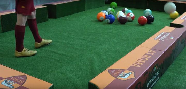 Primaland noleggia il biliardo umano da giocare con palloni e con il controllo elettronico del punteggio