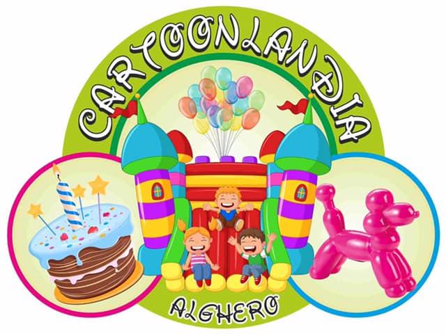 i giochi della nuova ludoteca Cartoonlandia di Alghero sono stati realizzati da Primaland